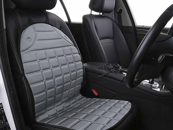 Adjustable car seat heater