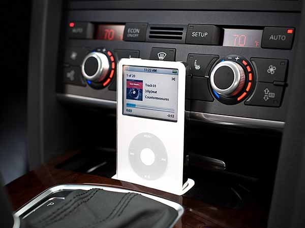 How to connect audio devices with car audio system
