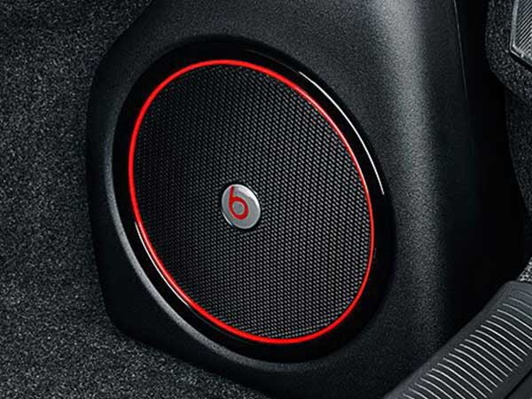 Speaker for car audio system