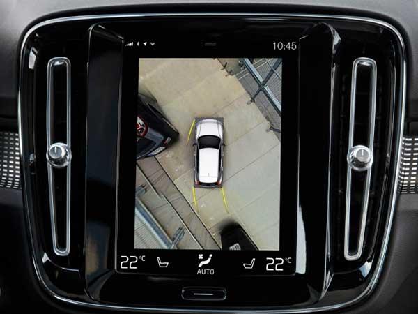Camera around the car