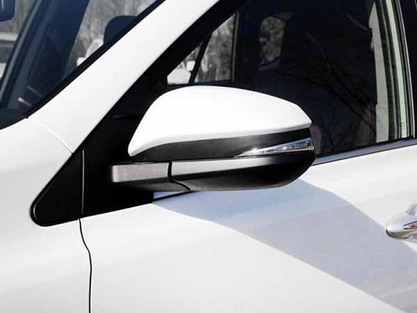Electric car mirror