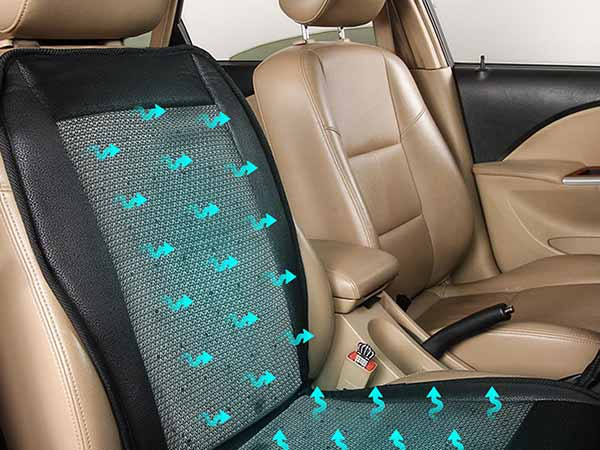 Car seat cooler, the best option for hot days