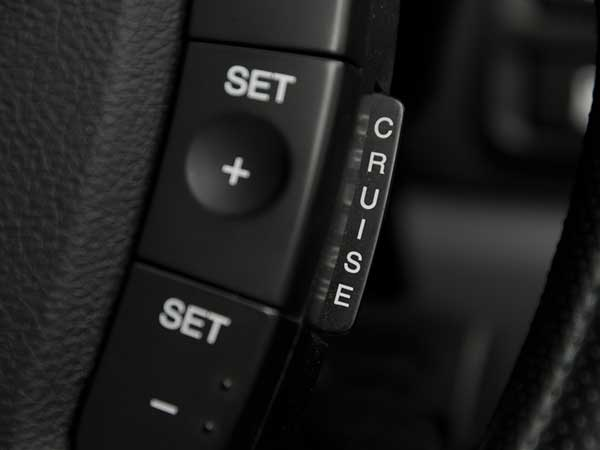 Travel comfort with cruise control installation