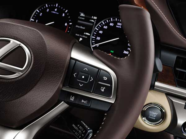 interface of Car steering