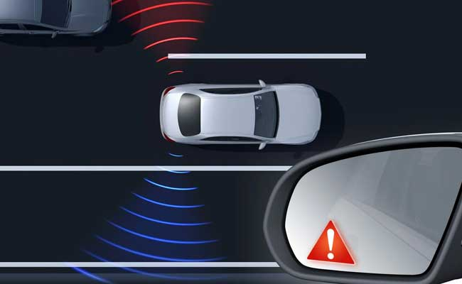 Less risks with blind spot radar