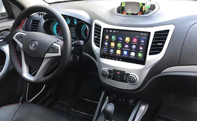car multimedia system with the Steering Wheel Interface