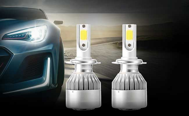 Replacing car headlamps with headlights