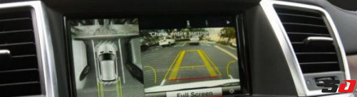 360 degree car parking camera