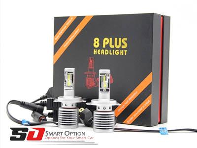 Headlight car to illuminate the road
