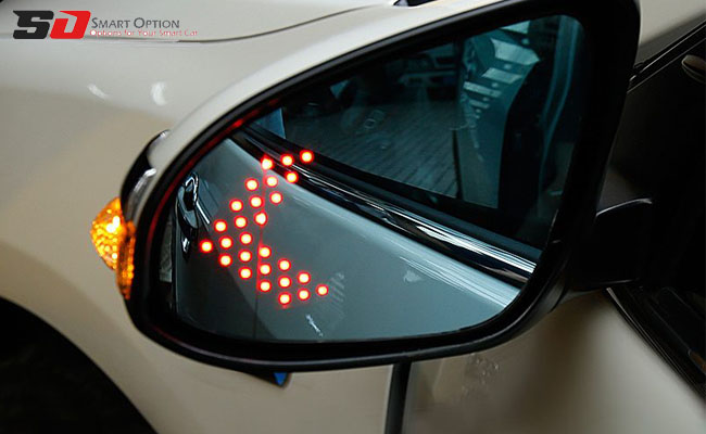 Increase safety and reduce damage with blind spot radar