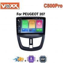 مانیتور پژو 207 C500 Pro