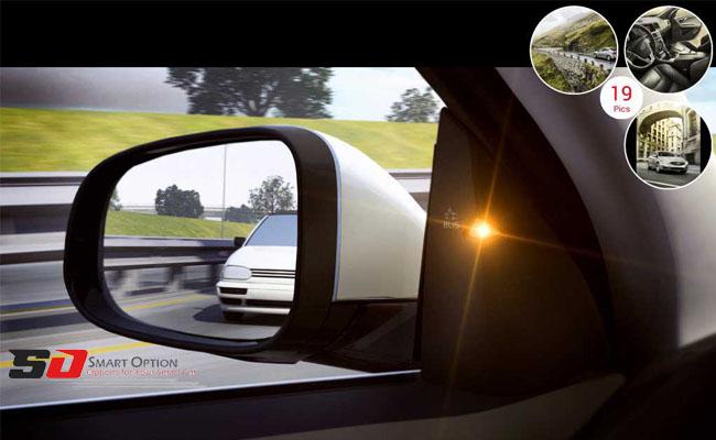Blind spot radar with factory key