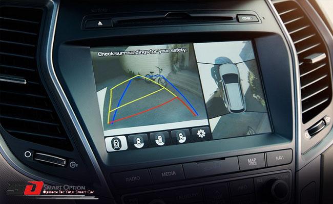 آپشن دوربین 360 درجه خودرو