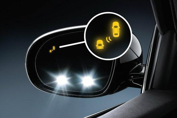 Car-blind-spot-radar-Mirror