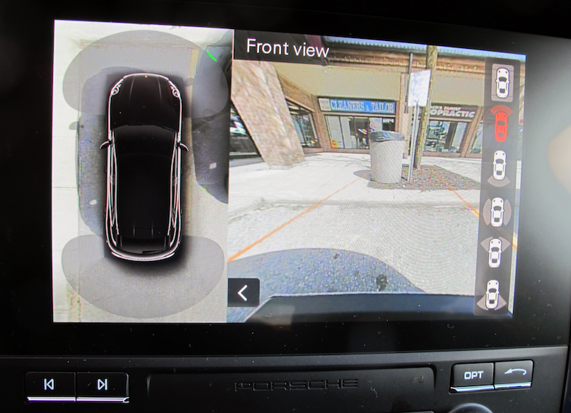 دوربین 360 درجه خودرو پورشه ماکان