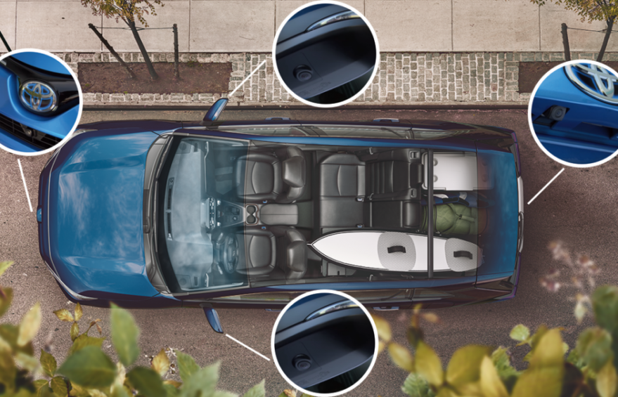 نگاهی به دوربین 360 درجه خودرو
